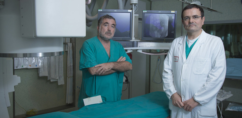interventix radiologia interventistica pieri agresti in sala operatoria long